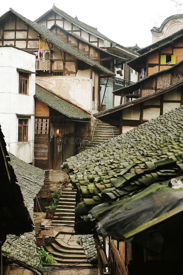 folk fubao house23 fotografering för bildbyråer