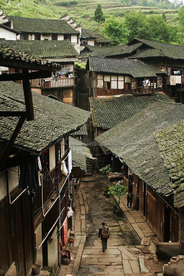 folk fubao house4 arkivbilder