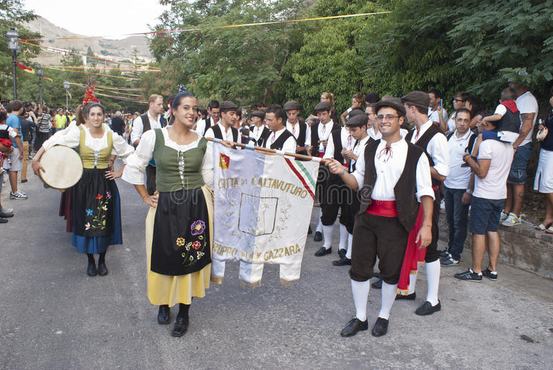 Folk group from sicily