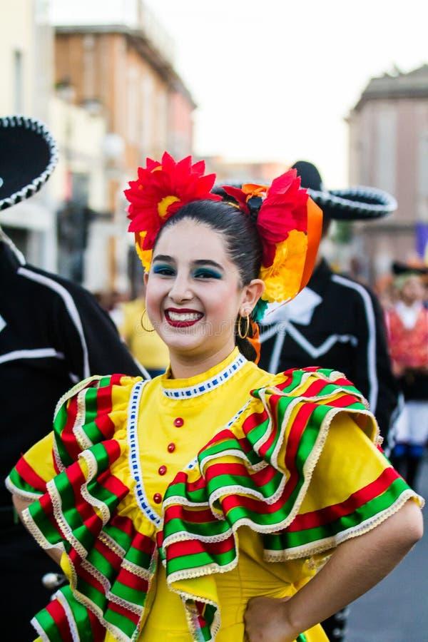 Folk grupp av Mexico arkivfoton
