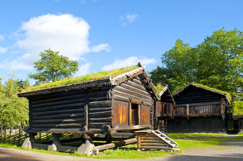 Folk Museum stock photo