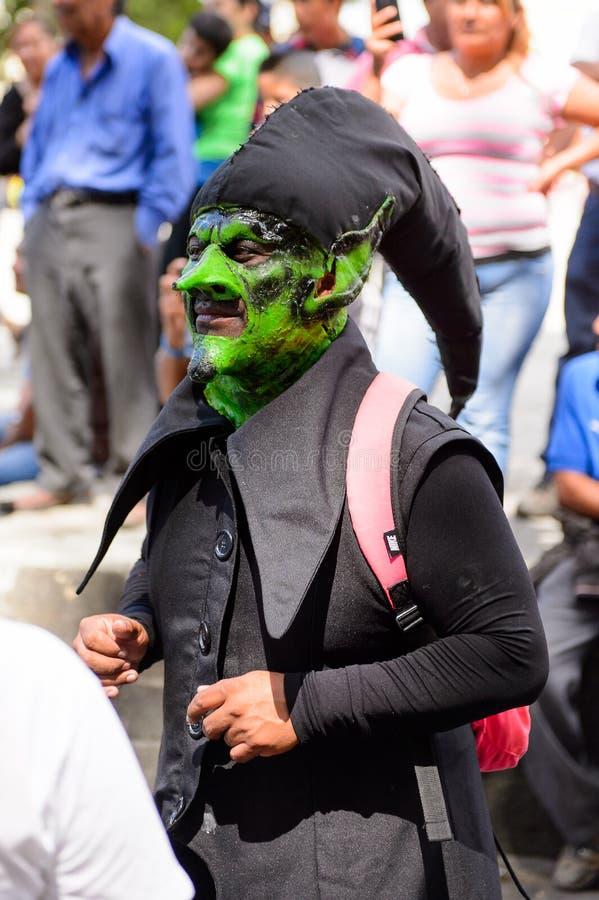 Folk på Diametern de los Muertos i Mexico royaltyfria foton