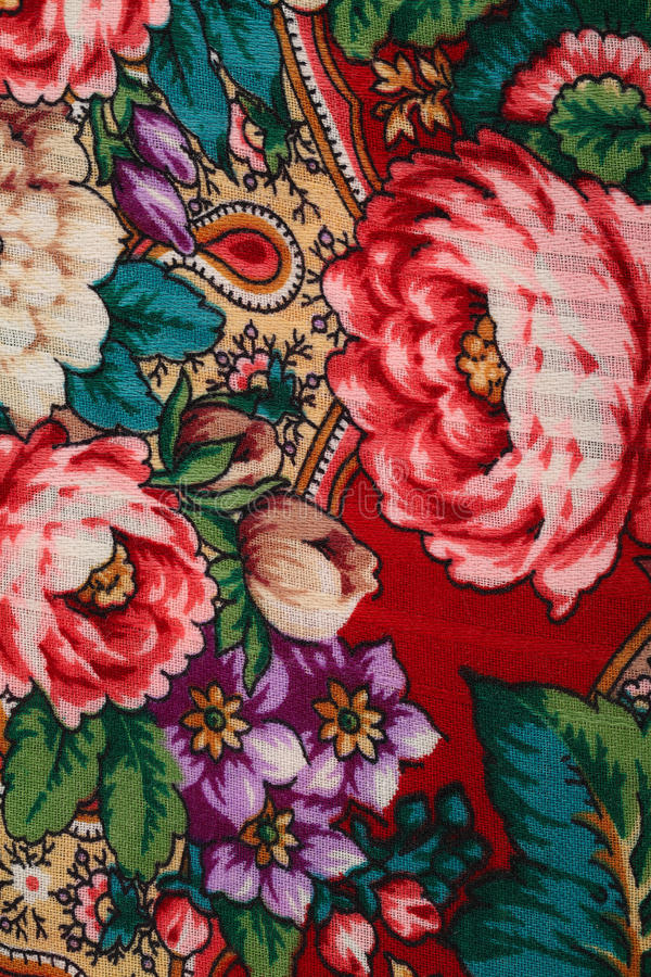 Folk Pattern. Classic Vintage Russian Folk Pattern stock photo