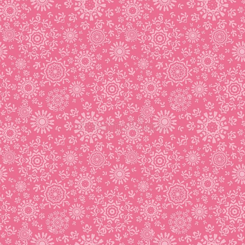 Download Folk Pink Floral Circles Texture Abstract Seamless Stock Photos - Image: 38032963