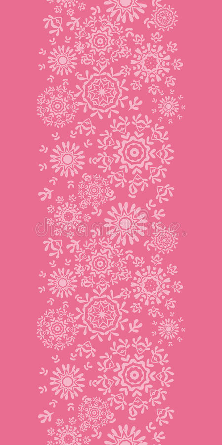 Free Folk Pink Floral Circles Texture Abstract Vertical Royalty Free Stock Images - 38205889
