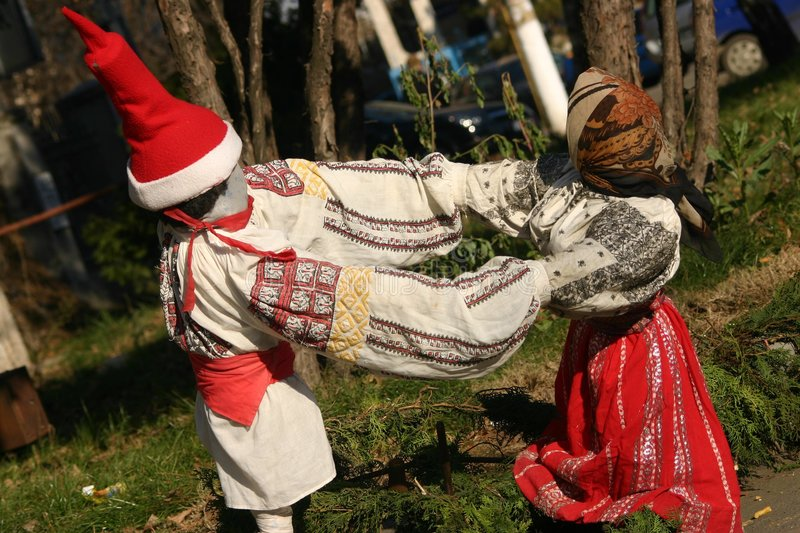 Download Folk puppets stock photo. Image of traditional, cousin - 441556