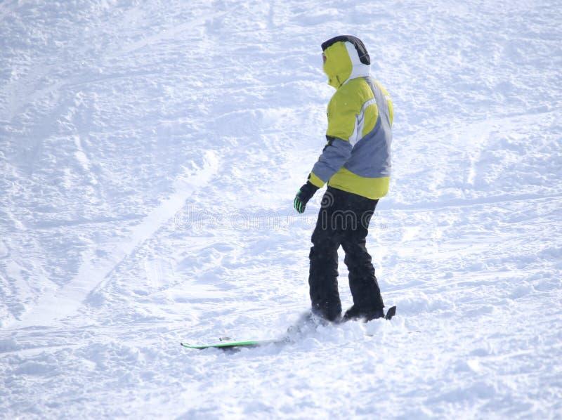 Download Folk som skidar i vintern arkivfoto. Bild av farligt - 106832152