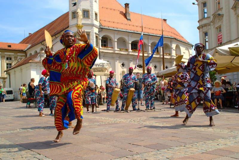 Folkart, Festival Lent, Maribor royalty free stock images
