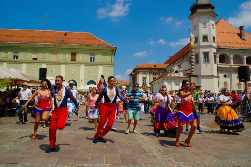 Folkart 2016, Festival Lent, Maribor, Slovenia stock image