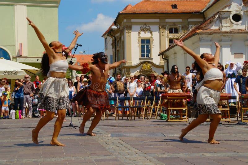 Folkart 2016, Festival Lent, Maribor, Slovenia stock photography