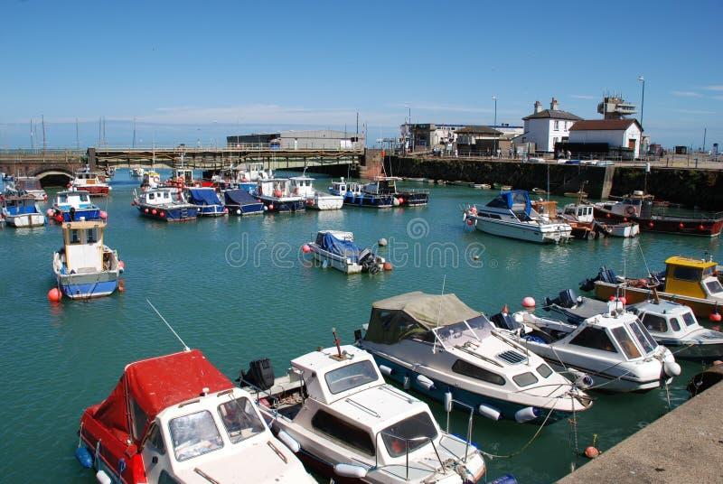 Folkestone-Hafen, England lizenzfreie stockfotografie