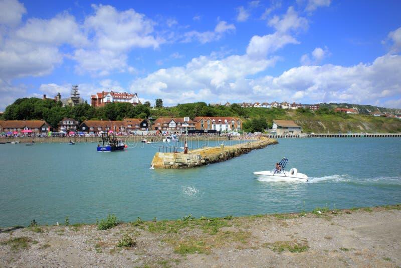 Folkestonehaven Engeland stock foto's