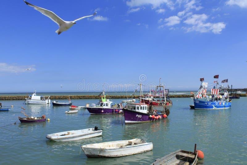 Folkestonehaven Engeland stock foto