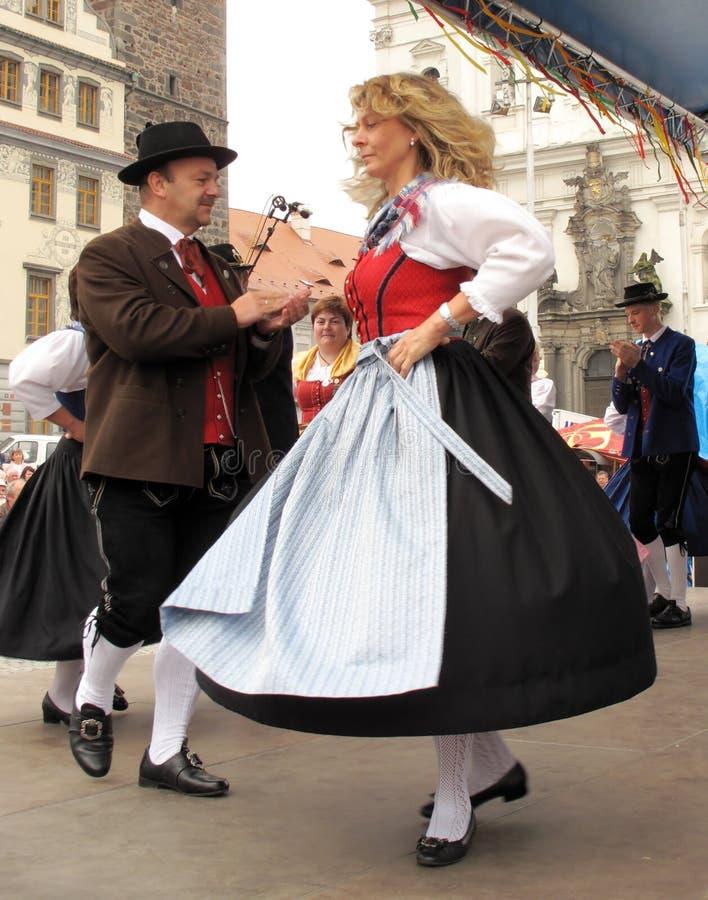 Folklore alemán tradicional fotografía de archivo