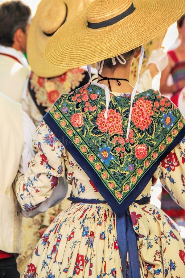 Folklore av Provence royaltyfri fotografi