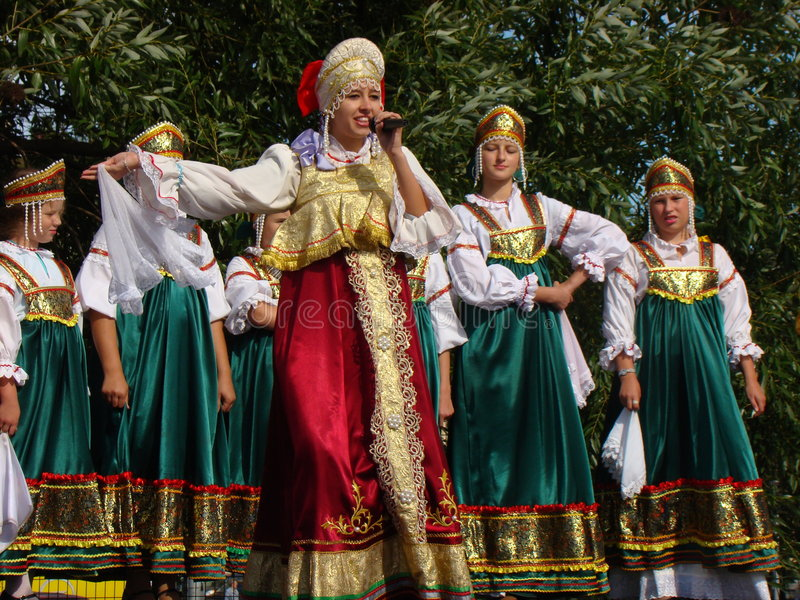Folklore ensemble of Russian national song