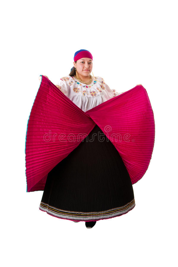 Folklore Hispanic Latina woman stock images
