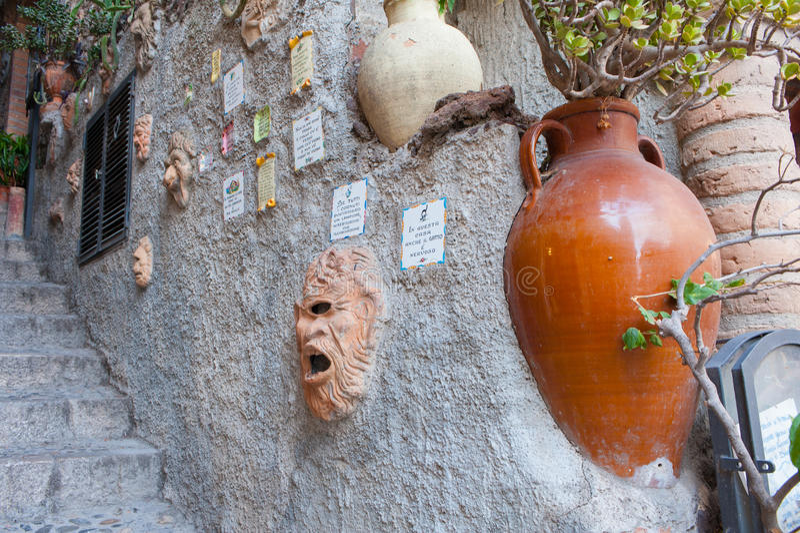 Folklore of Sicily stock photo