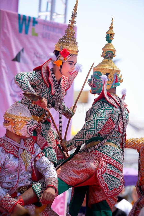 Folklore thaïlandais photo stock