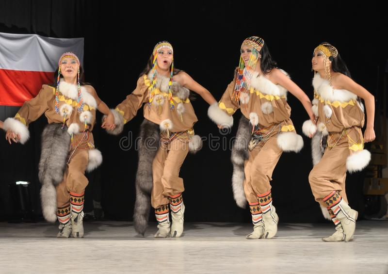 Folklore yakoute image stock