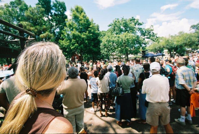 folkmassa royaltyfria bilder