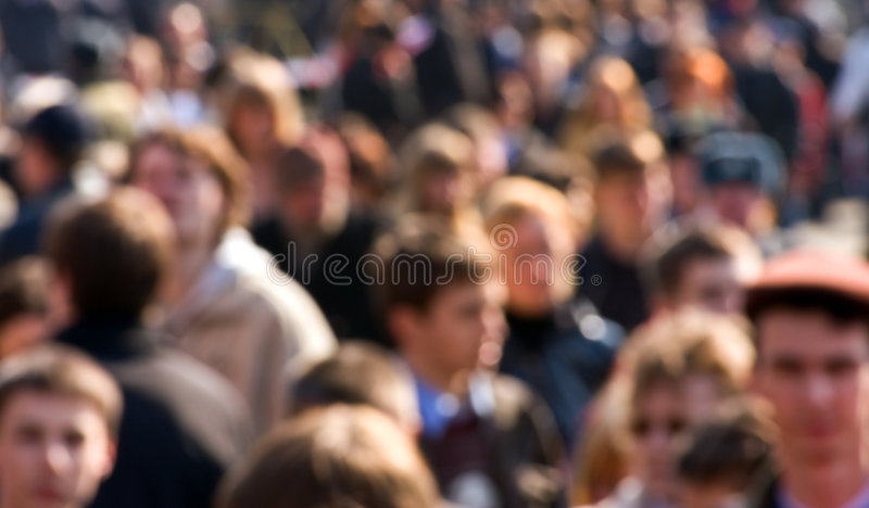 folkmassa arkivbilder
