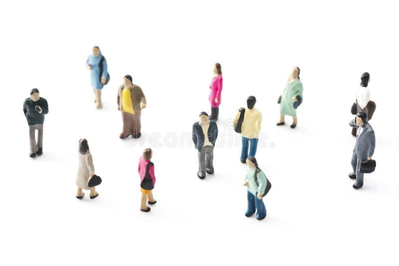Folkmassa av folk arkivfoto