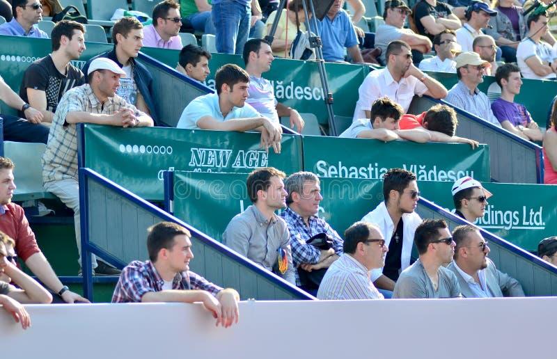 Folkmassa på trofén för BRD Tiriac Nastase 2013(7), royaltyfri foto