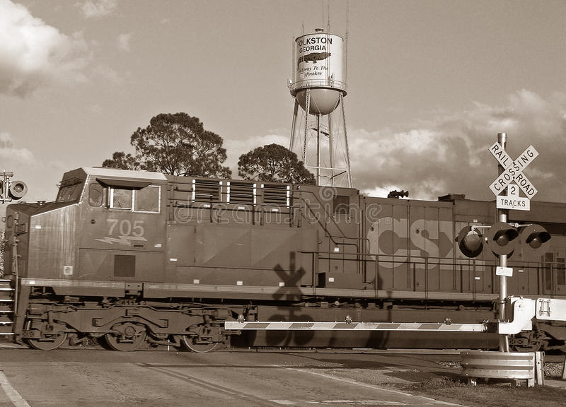 The Folkston Funnel stock photo