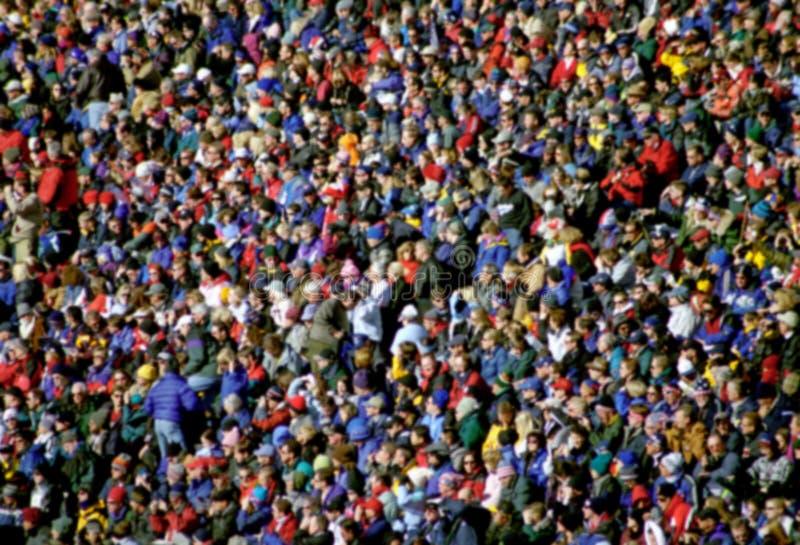 Folla astratta varia fotografia stock libera da diritti