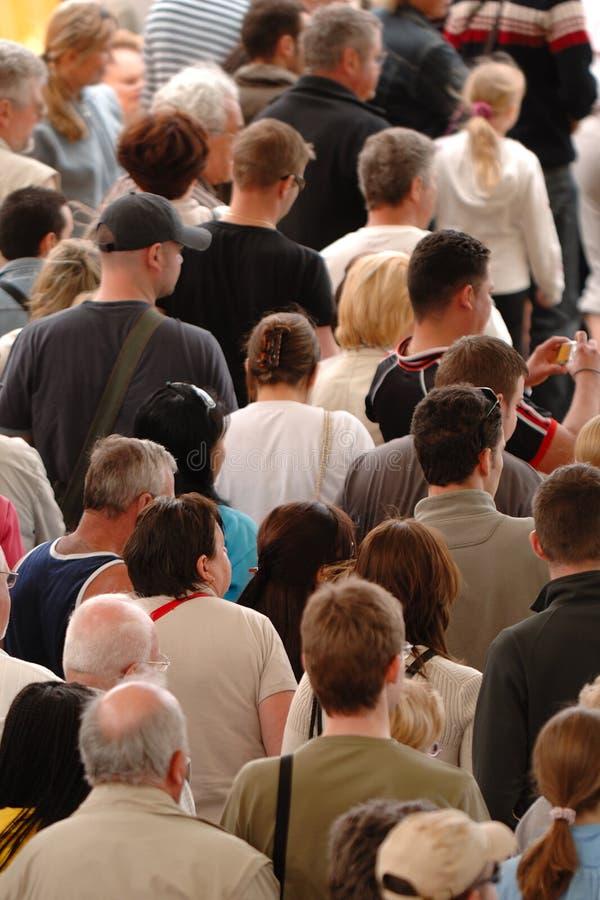 Folla della gente immagini stock libere da diritti