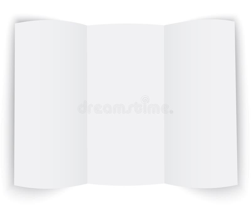 Folleto de la presentación ilustración del vector