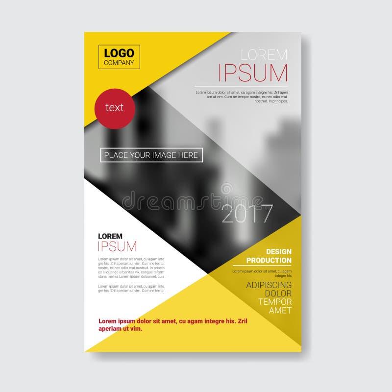 Folleto Del Diseño De La Plantilla, Informe Anual, Revista, Cartel ...