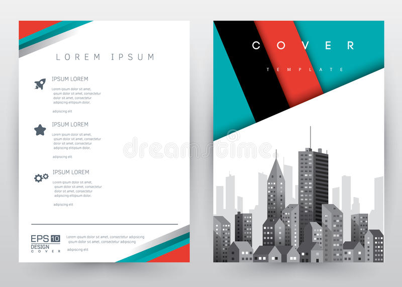 Folleto determinado de la plantilla del vector del diseño de la cubierta, informe anual, revista, cartel, presentación corporativ libre illustration