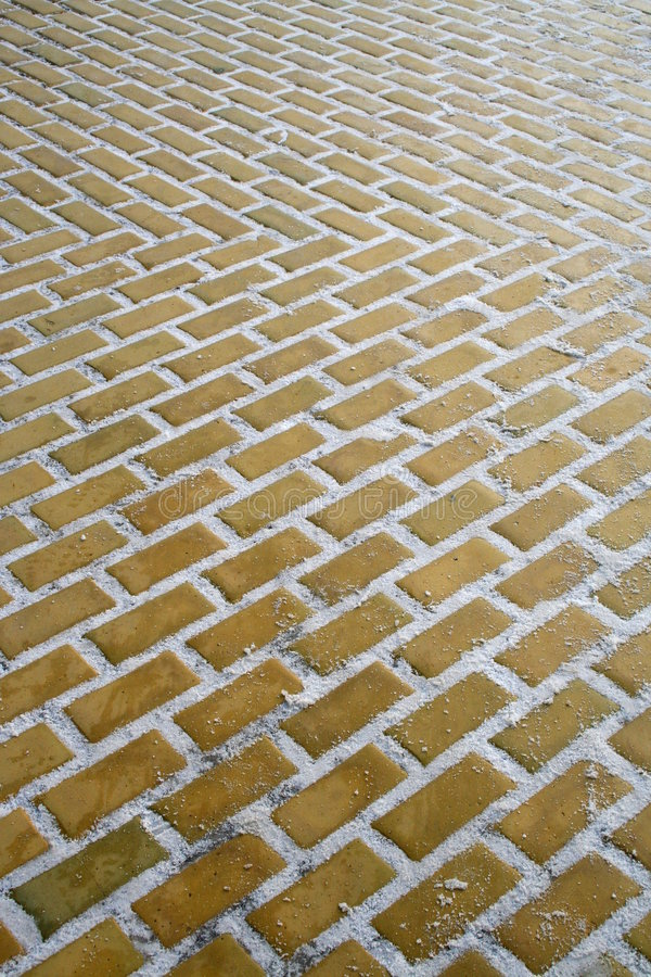 Follow the yellow brick road royalty free stock images