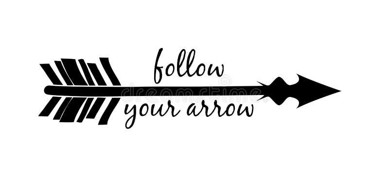 Follow Your Arrow Silh...