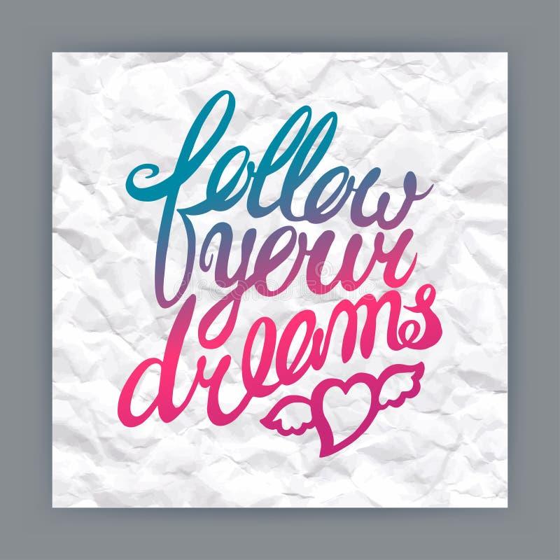 Follow your dreams sto...