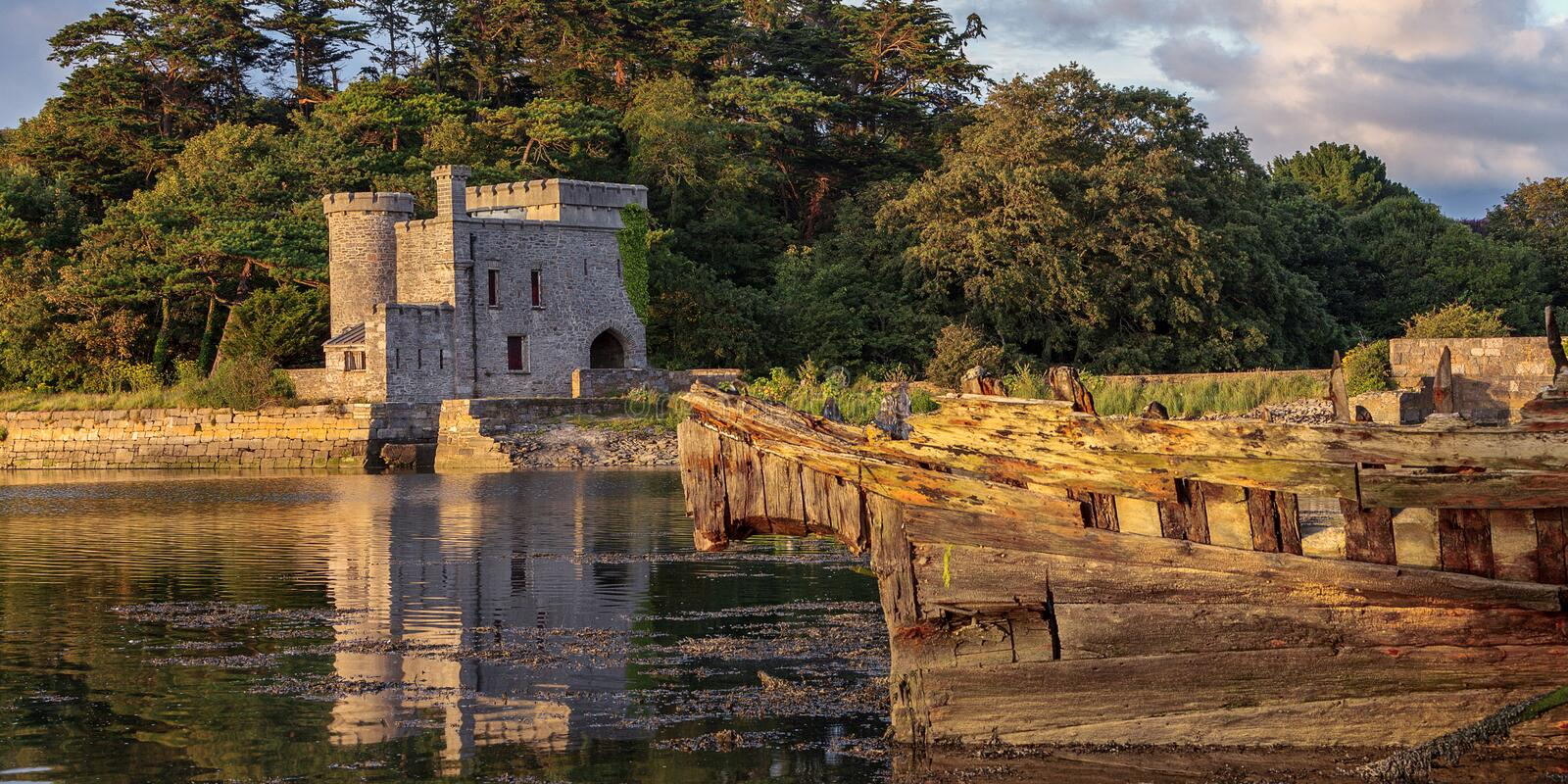 Download The Folly stock image. Image of plymouth, reflection - 26618775