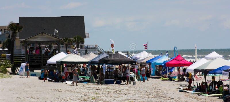 Folly Beach, Charleston, SC royalty free stock image