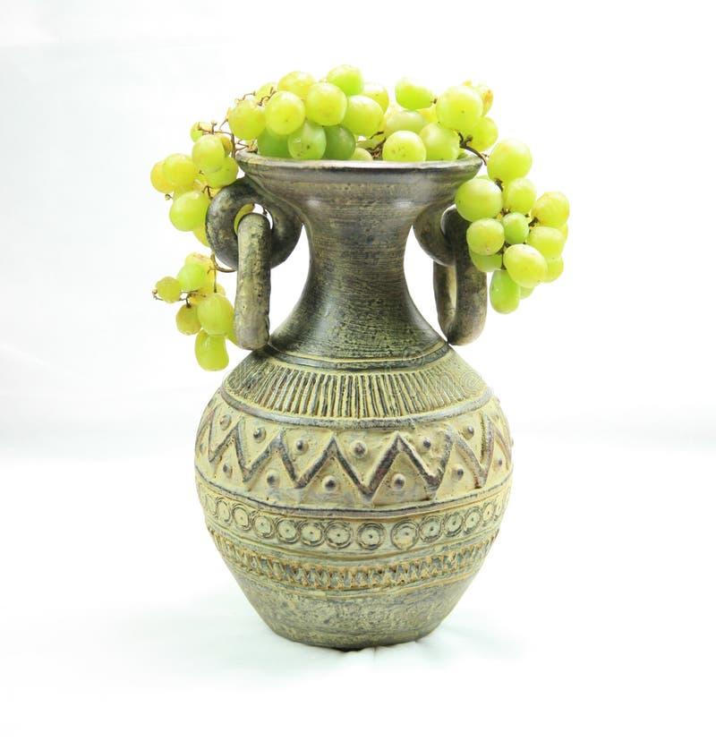 folował winogrona wazowych zdjęcia royalty free