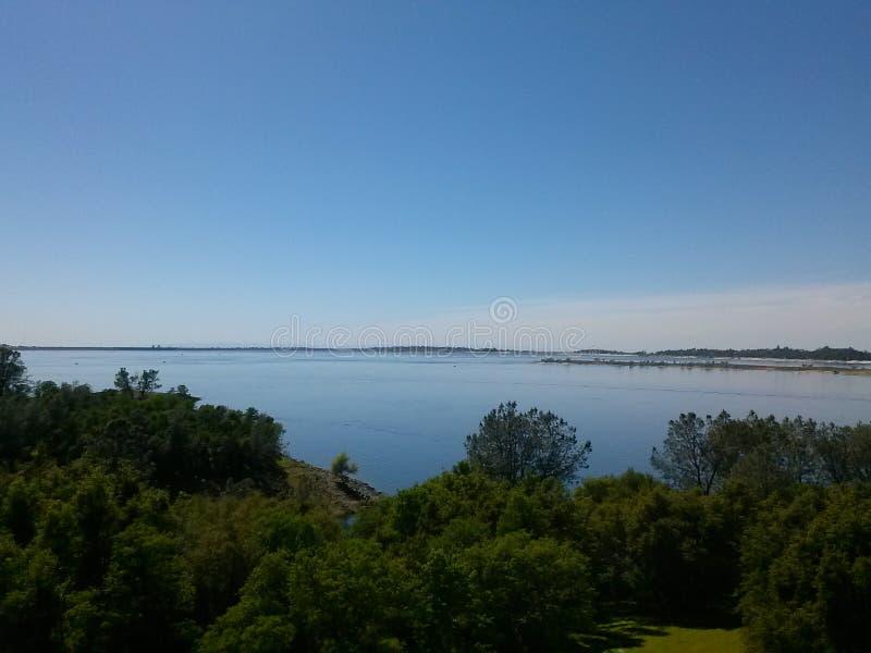 Folsom sjö arkivbild