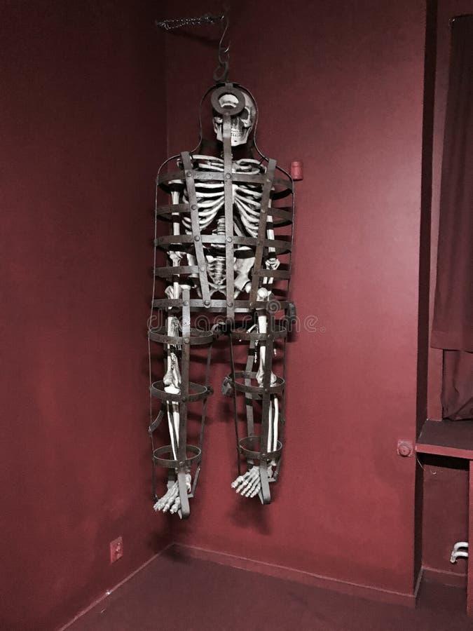 Folterungsmuseum in Prag, Tschechische Republik lizenzfreies stockfoto