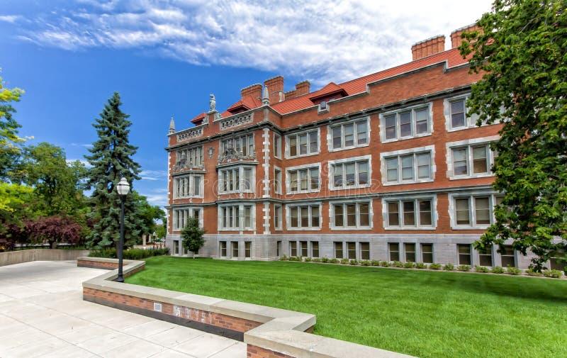Folwell histórico Pasillo en el campus de la universidad de Minneso