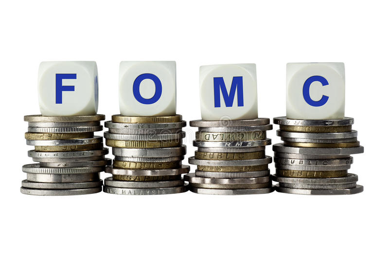 FOMC - Federal Open Market Committee royalty free stock photography