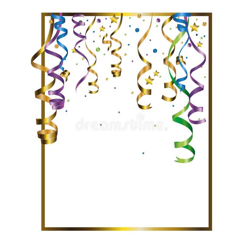Fon slingrande färgblandning arkivbild