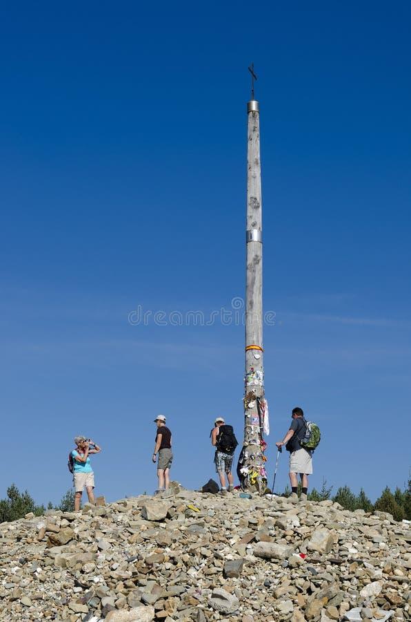 Download Foncebadon editorial photography. Image of iron, hiking - 26653182