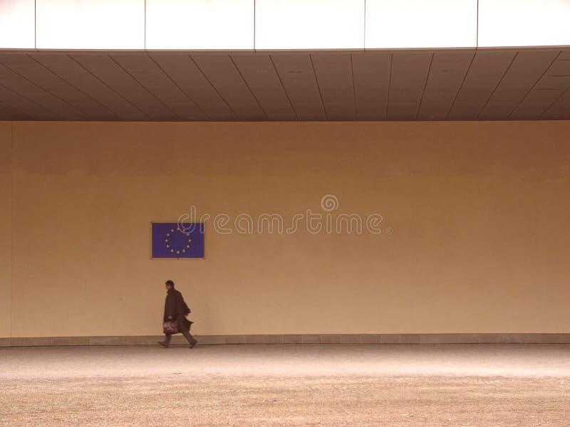 Fonctionnaire 1 de Commission européenne photo libre de droits