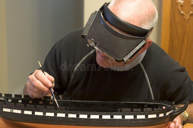 Fonctionnement d'artisan photographie stock