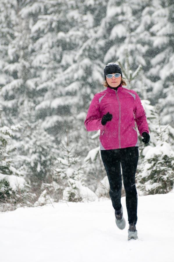 Fonctionnement de l'hiver photos libres de droits