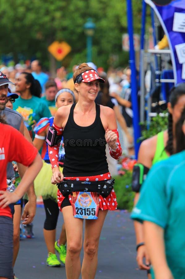 Fonctionnement de marathon photo stock